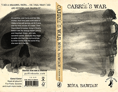 'Carrie's War' Book Cover Competition Entry