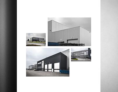 Trost Industriebau   Poster Design