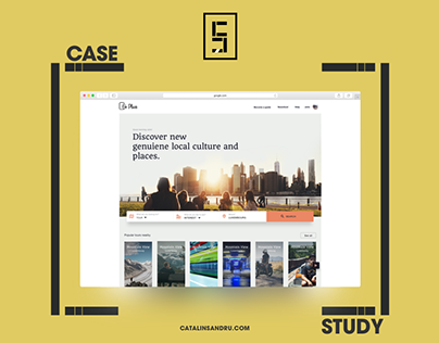 Travel website case study