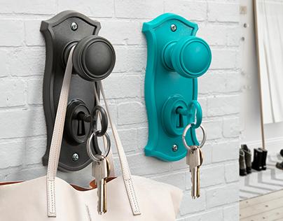 DOORMAN / key holder and hook