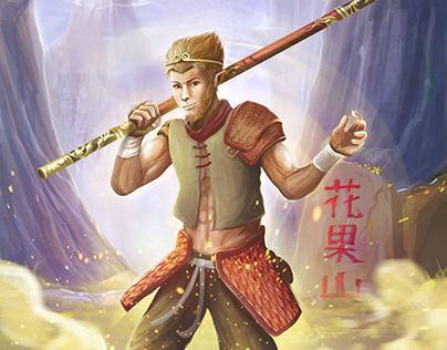 Monkey King_Sun Wu Kong