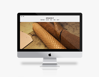 SPAZIOiF : Website & E-commerce