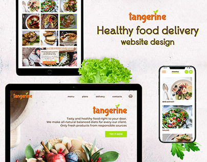 Tangerine - Healthy food delivery