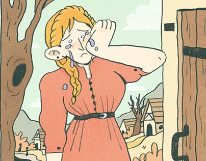 Sad Farm Girl