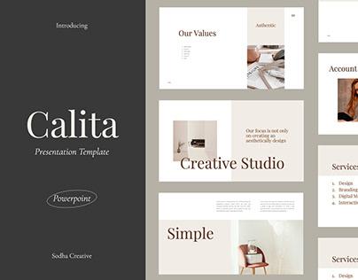 Calita Presentation Template
