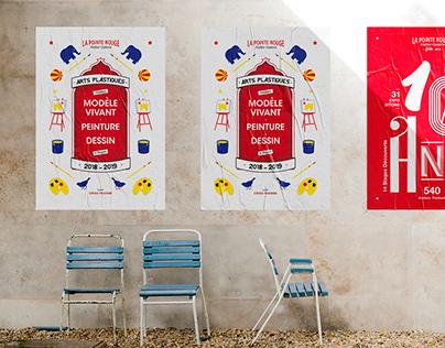 La Pointe Rouge 2018 // Affiche & Flyer
