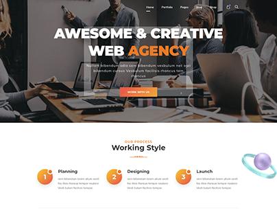 Corporate Agency - WordPress