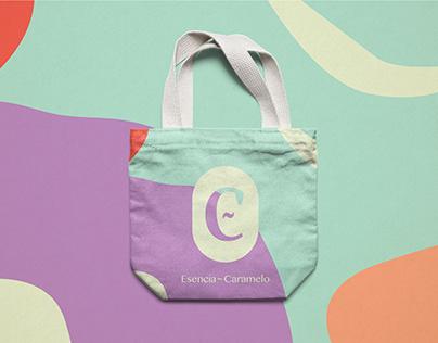 Esencia Caramelo. Brand Identity