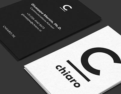 Chiaro – Identity and website design