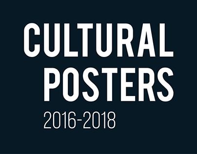 Cultural posters 2016-2018