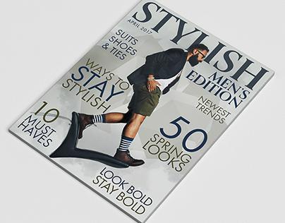 Stylish Magazine Cover