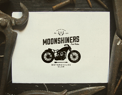 Moonshiners MC - Branding Project