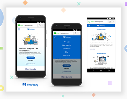 Feedoozy.com - redesign - Mobile website