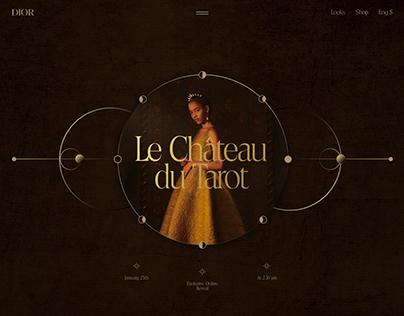 Dior Haute Couture Collection Promo Site