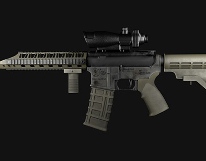 Firearms - Modeling and Texturing