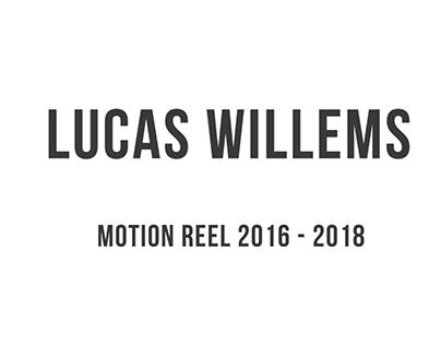 Motion Reel (2016 - 2018)