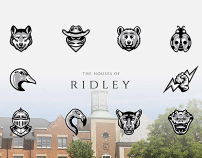 Ridley College | Mascot Design & Character Illustration