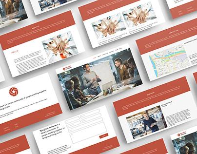 FlyingVest Ventures Website UI
