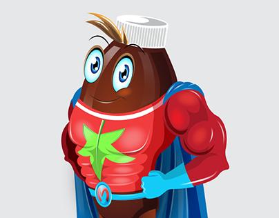 Mr. Meltus Mascot