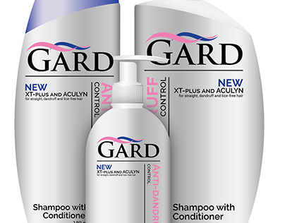 Repackaged Gard Shampoo with Conditioner