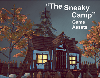 "3D Game Assets ""The Sneaky Camp"""