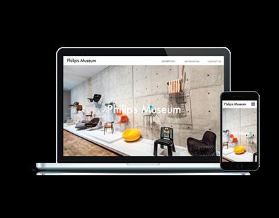PHILIPS MUSEUM WEB DESIGN