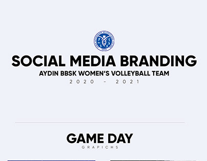 Social Media Branding for Aydin BBSK Women's Volleyball