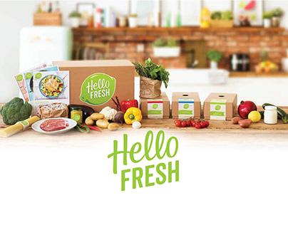 Hello Fresh Store Experience