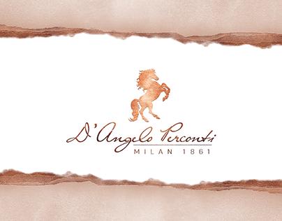 D'Angelo Perconti - packaging design