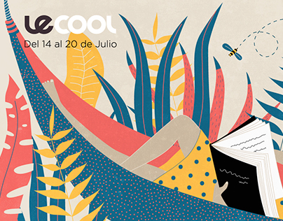"""Illustrations for """"le cool magazine"""" summer edition"""