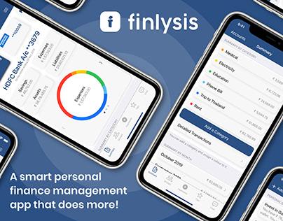 Finlysis - A personal finance management app
