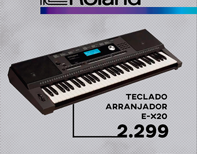 Post Produtos Roland
