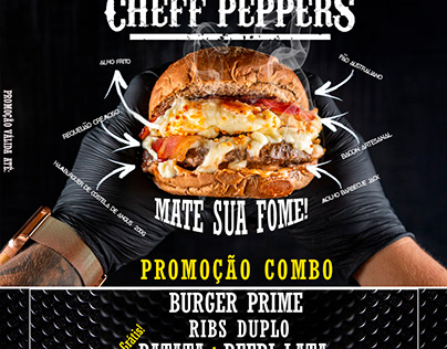 • CHEFF PEPPERS • [ LAYOUT ] • HAMBURGUERIA •