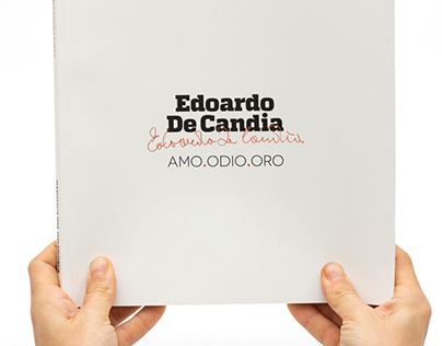 Edoardo De Candia AMO.ODIO.ORO