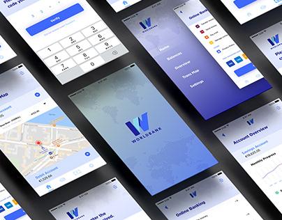Bank App Concept UI/UX