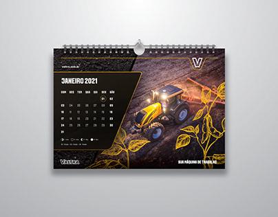 Valtra 2021 Wall Calendar