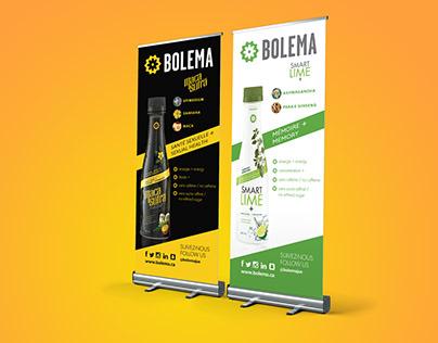 DESIGN GRAPHIQUE Bolema - bannières Rollup