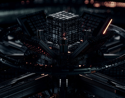 The Black Box Transfer Ship From The Dark City