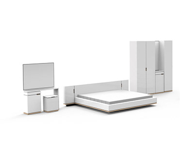 Linearity Bedroom Set for Index Living Mall