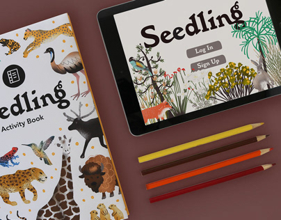 Seedling App & Activity Book