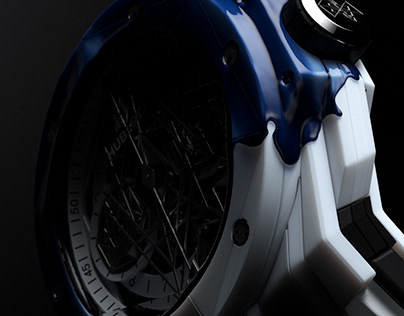 HUBLOT SANG BLEU II CERAMIC (Director's cut)