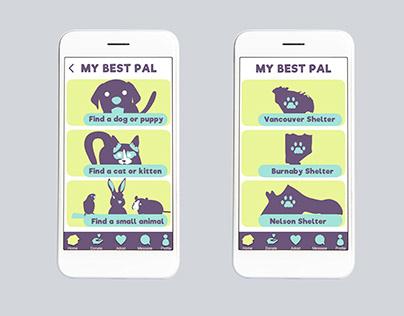My Best Pal - UI/UX Design