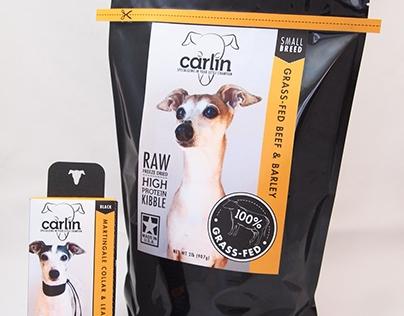Carlin Pet Product Branding