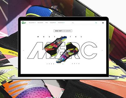 Nike What The Mercurial Microsite