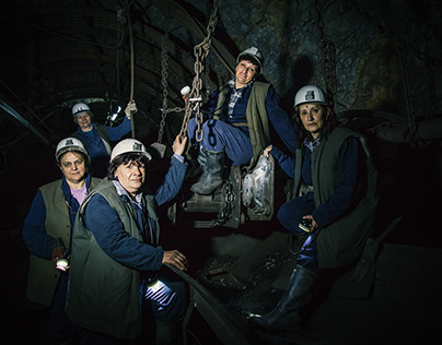 Female Miners In Serbia