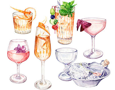 Sexy Fish Cocktails