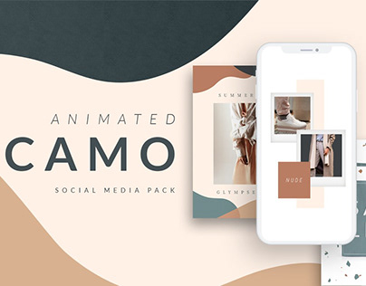 ANIMATED Camo Social Media Pack