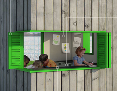 Corner Craft: Playhouse Competition Entry