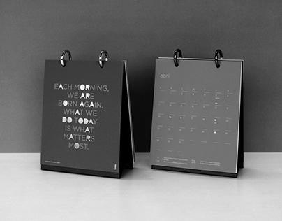 ANTALIS 2019 TABLE CALENDAR