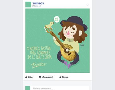 Twistos - Fanpage
